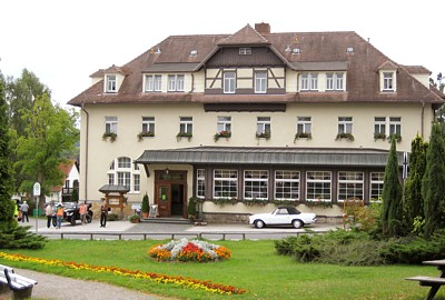 Parkhotel Forsthaus im April