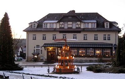Parkhotel Forsthaus im Dezember