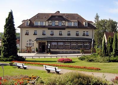 Parkhotel Forsthaus im Juli