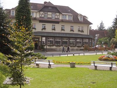 Parkhotel Forsthaus im Mai