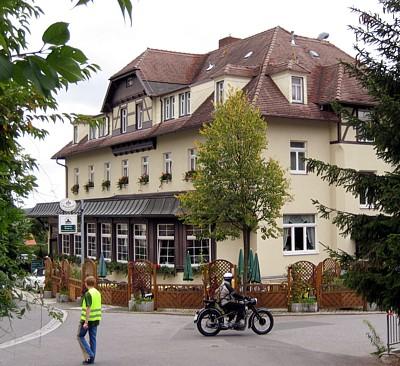 Parkhotel Forsthaus im September